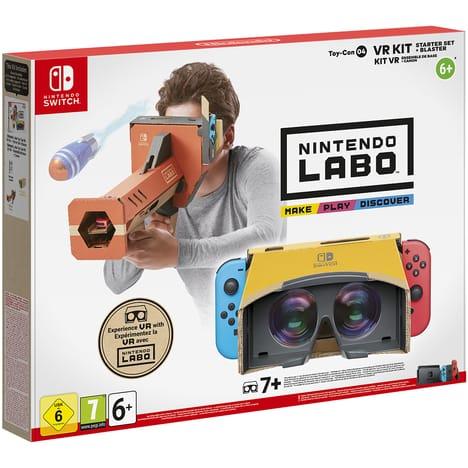 Nintendo Labo - Toy-Con 04 - Ensemble de Base + Canon pour nintendo switch