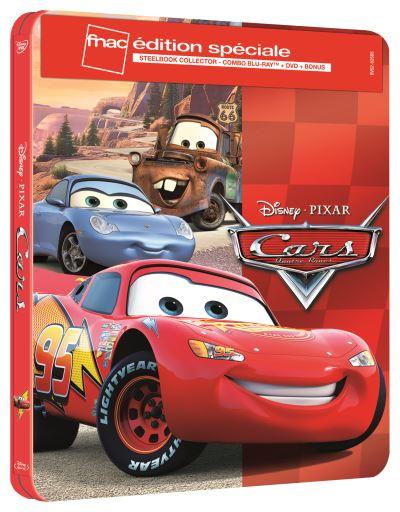 Sélection de Blu-ray Steelbook Disney / Pixar à 3.75€ - Ex: Cars