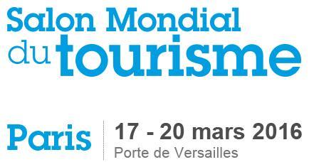 2 entrées gratuites pour le salon mondial du tourisme de Paris du 17 au 20 Mars 2016