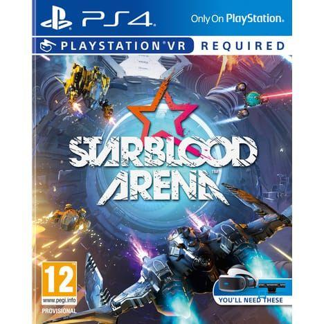 Sélection de jeux vidéo et accessoires en promotion - Ex : Starblood Arena VR PS4 à 4.99€, HITMAN 3 PS4 à 52.99€