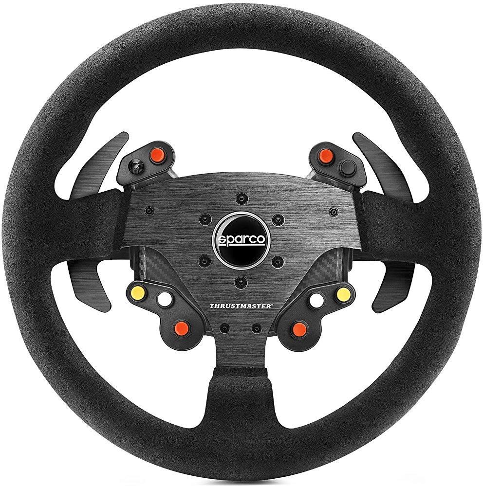 Sélection d'accessoires et volants de jeux vidéo Thrustmaster en promotion - Ex : Rally Wheel Add-On Sparco R383