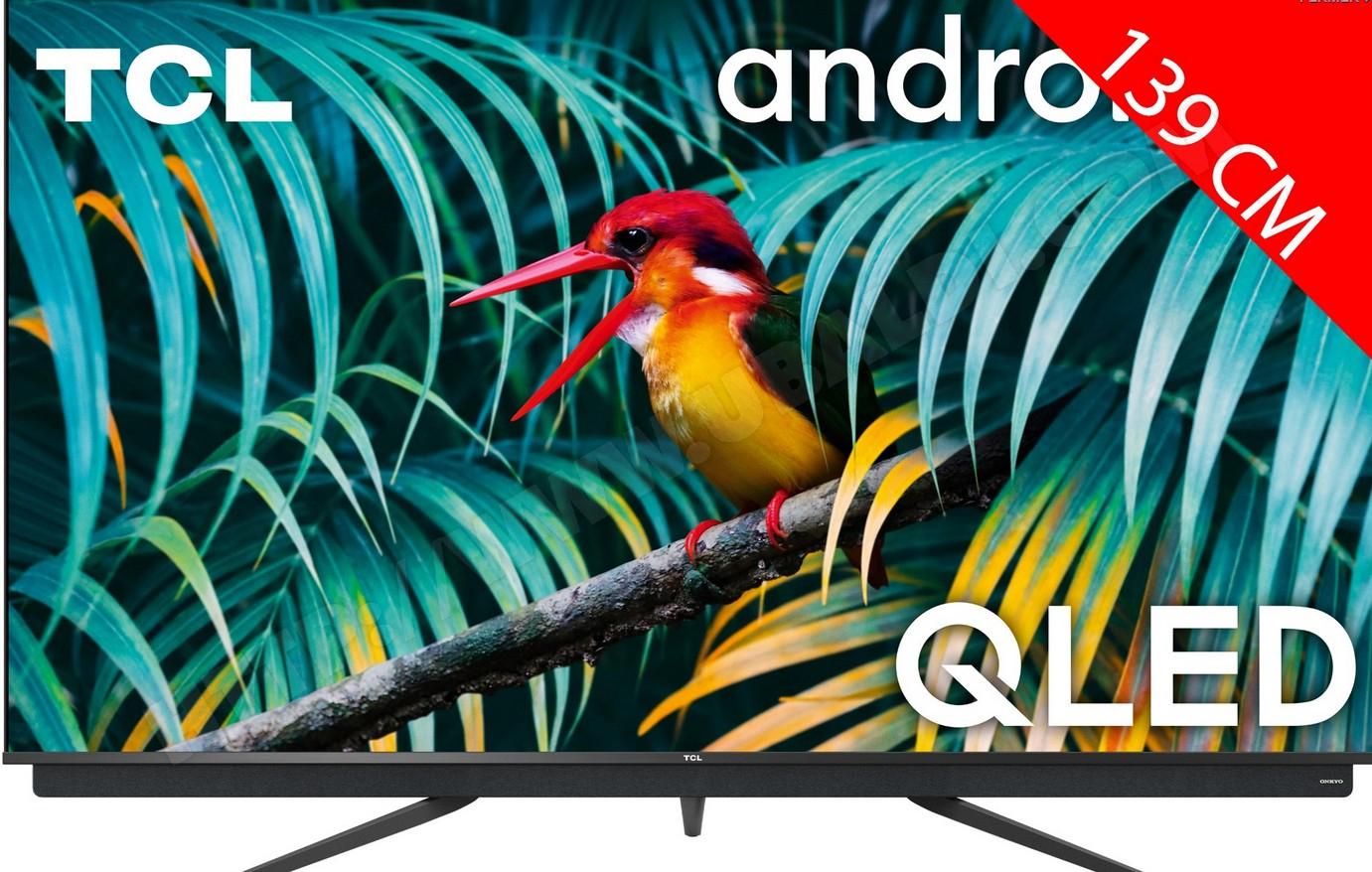 "TV QLED 55"" TCL 55C811 - 4K, HDR, Android TV (via ODR 50€)"