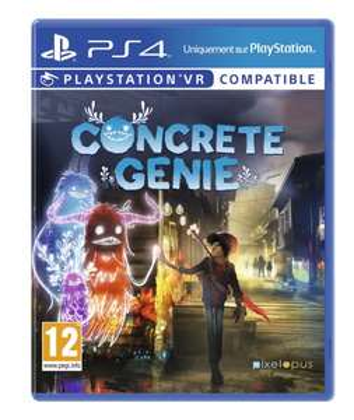 Sélection de jeux en promotion - Ex : Concrete Genie sur PS4