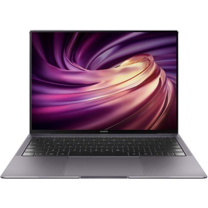 Pc portable Huawei MateBook X Pro (53010VPK) - 3000 x 2000, Core i5-10210U, 16 Go de RAM, SSD 512 Go, MX250 2Go