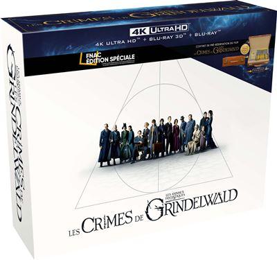 Coffret Blu Ray Les Animaux fantastiques 2 : Les Crimes de Grindelwald