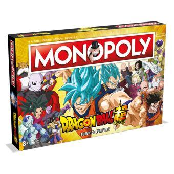 Jeu de société Winning Moves Monopoly Dragon Ball Super
