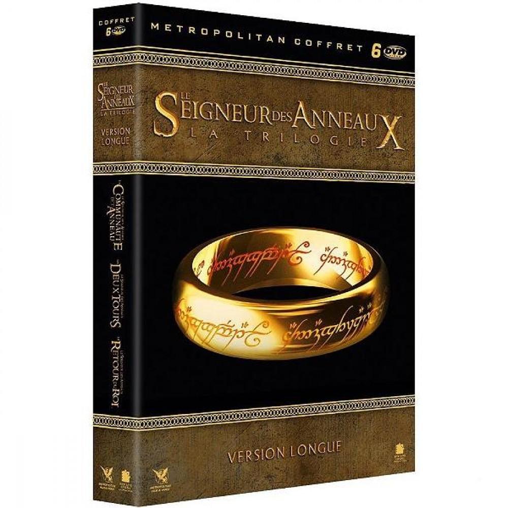 Coffret DVD Le Seigneur des anneaux - La Trilogie (Version Longue)