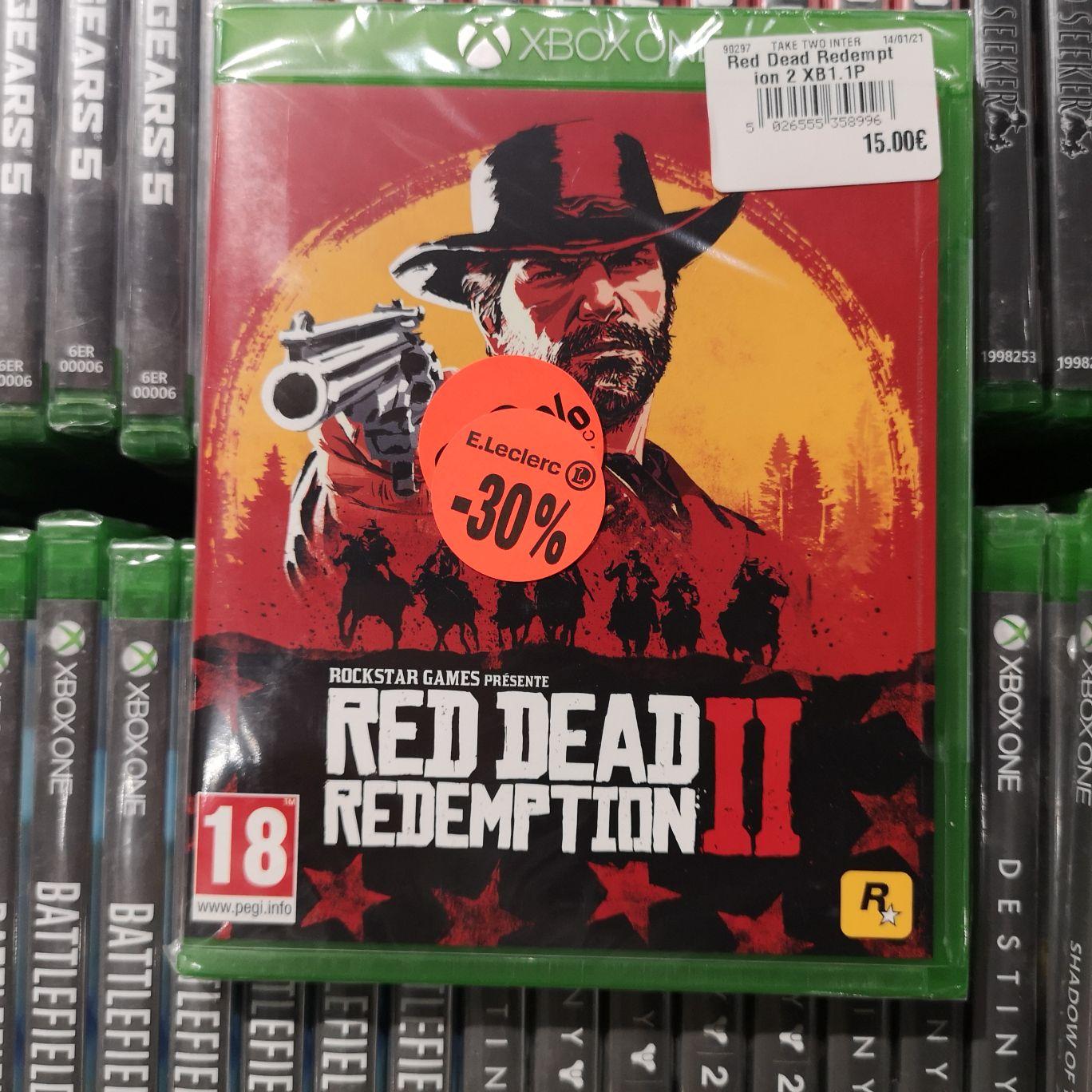 Sélection de jeux en promotion - Ex: Red Dead Redemption 2 sur Xbox One - Évreux/Caer (27)