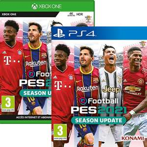 eFootball PES 2021 sur PS4 ou Xbox One