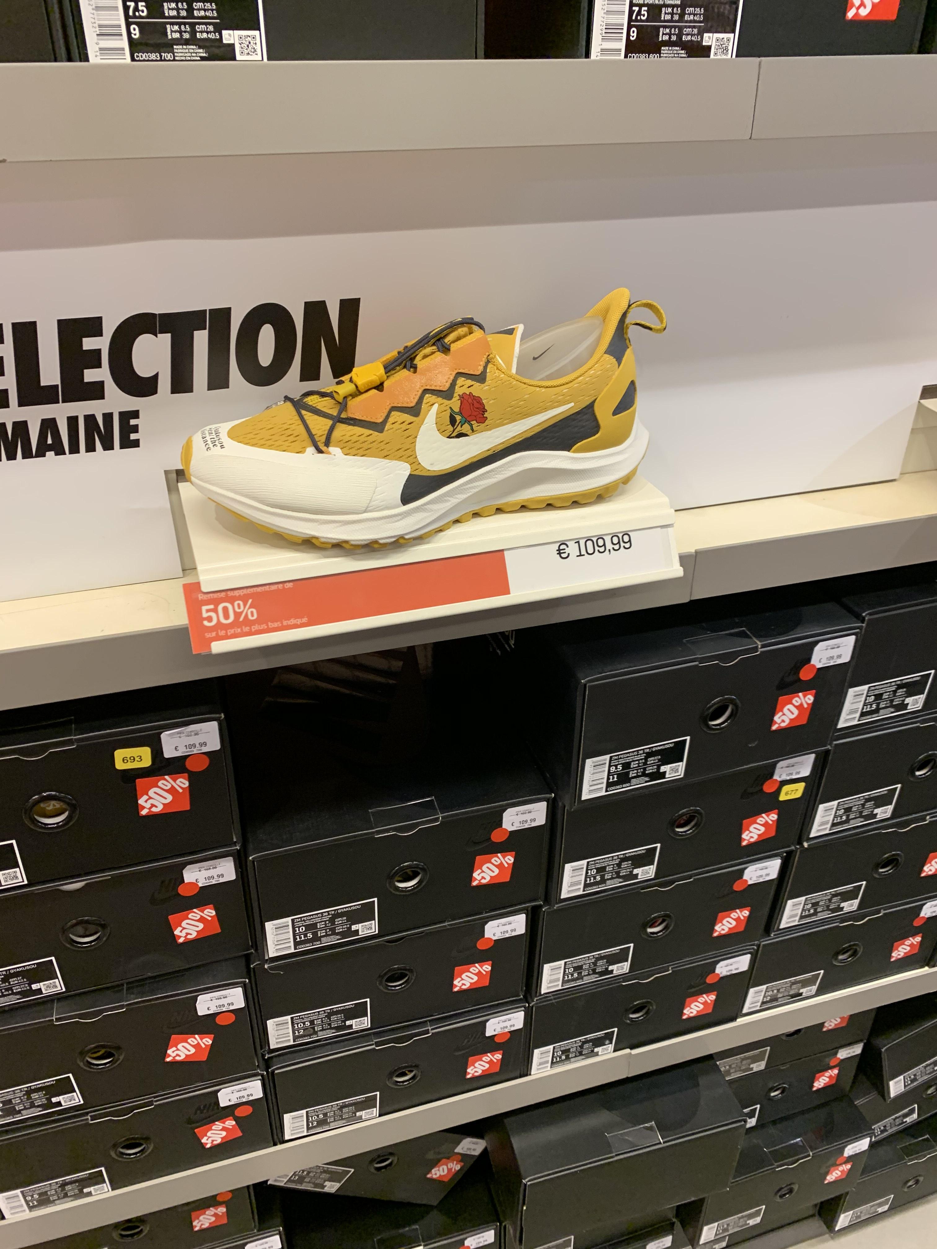 Chaussures de Trail Nike Air Zoom Pegasus 36 Trail x Gyakusou - Nike Factory Talange (57)
