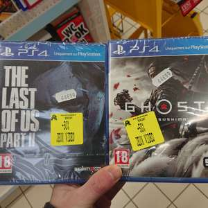 The Last of Us Part 2 ou Ghost of Tsushima sur PS4 (Semécourt 57)