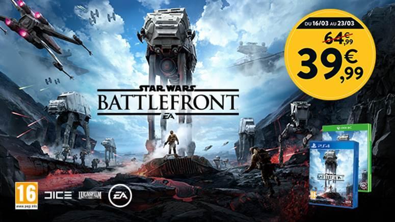 Star Wars Battlefront sur PS4 ou Xbox One