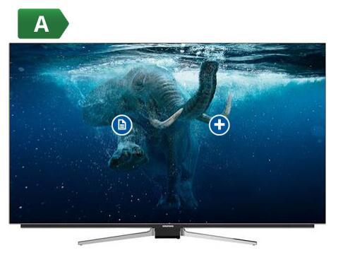 "TV 55"" Grundig 55VLO9895BP - 4K UHD, 100 Hz, Smart TV"