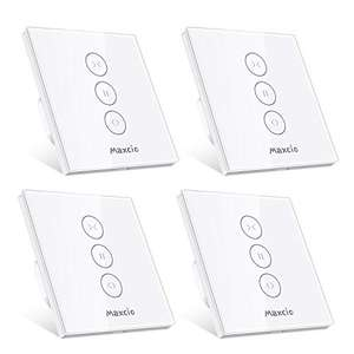 Lot de 4 Interrupteurd Maxio pour Volet Roulant - Compatible avec Alexa/Google Home (Vendeur tiers)