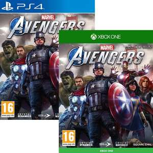 Marvel's Avengers sur Xbox One et versions Deluxe à 31.62€