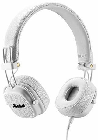 Casque audio filaire Marshall Major III Blanc