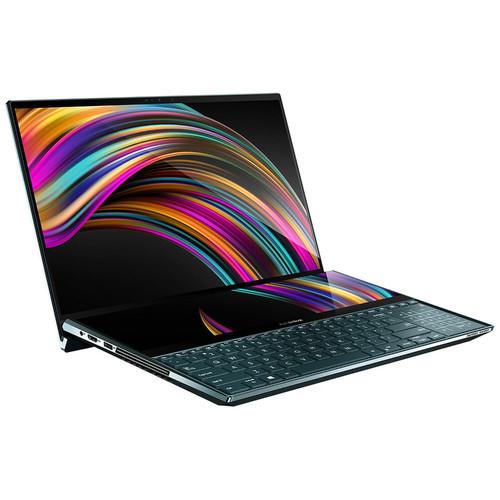 PC Portable 15.6'' Asus ZenBook Pro Duo UX581LV-H2018T - OLED 4K UHD, Core i7-10750H, 16 Go de RAM, SSD 512 Go, GeForce RTX 2060, Windows 10