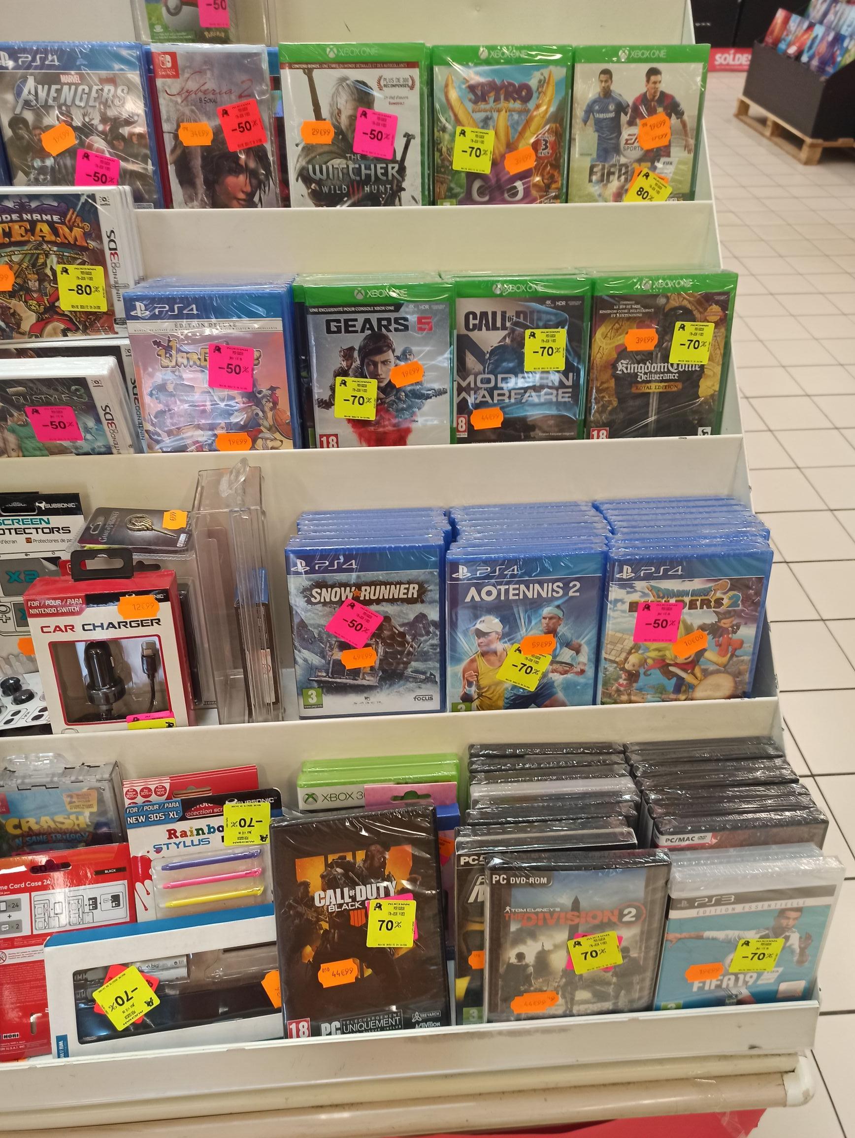 Sélection de Jeux PS4, Xbox One, 3DS et PC en promotion - Ex : Gears 5 sur Xbox One - Marsac sur l'Isle (24)