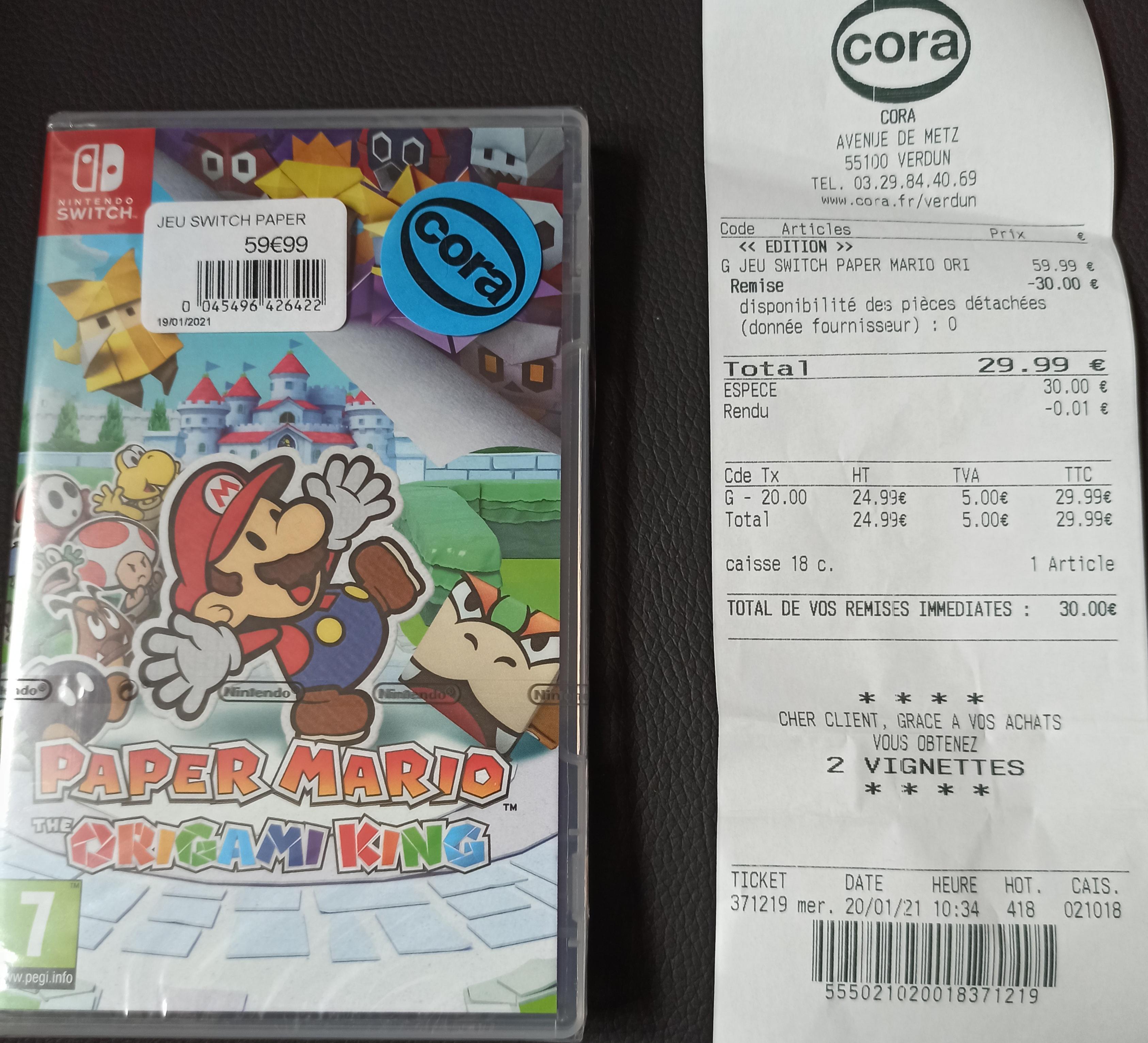 Paper Mario : The Origami King sur Nintendo Switch - Verdun (55)