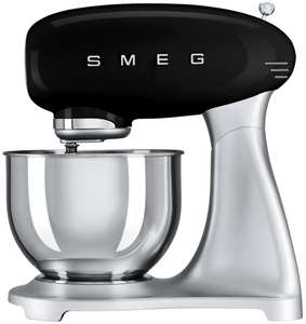 Robot de cuisine multifonction Smeg SMF02 SMF02BLEU - 800 W, noir (+ 16.5€ en Rakuten Points, 319.99€ via RAKUTEN10) - Boulanger
