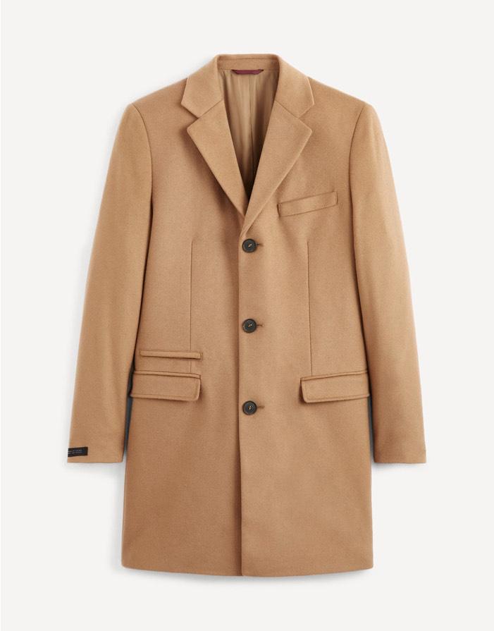 Manteau laine et cachemire - différents coloris (du S au XXL)