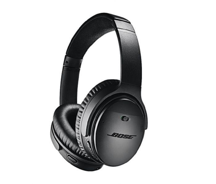 Casque audio sans fil à réduction de bruit active Bose QuietComfort 35 II - Noir (techinthebasket.fr)