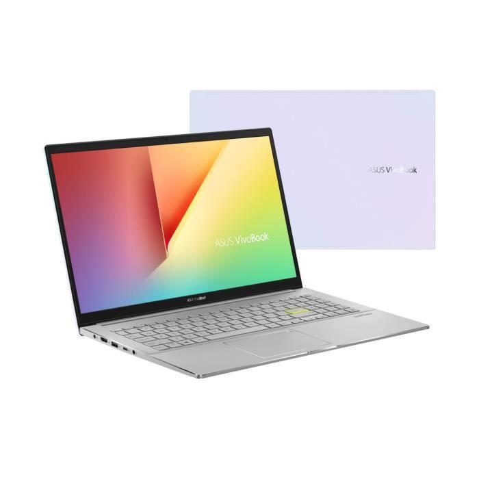 "PC Portable 15"" Asus Vivobook S S533IA-EJ087T - Ryzen 7 4700U, 16 Go DDR4, 512 Go SSD"