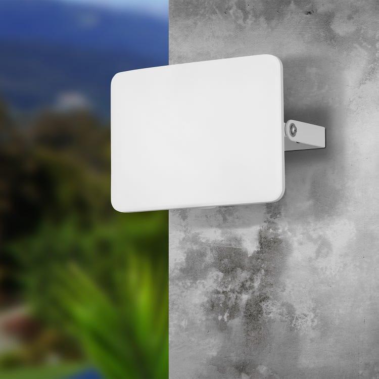 Projecteur extérieur LED intégrée 2750 Lm blanc Parri Eglo