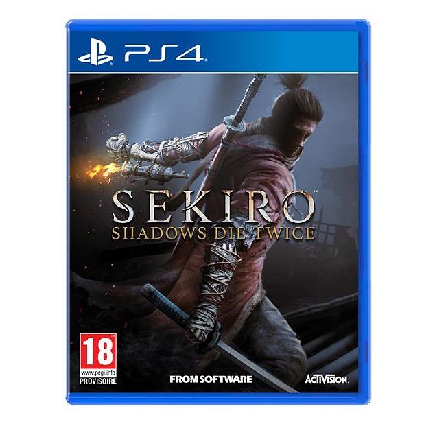 Sekiro Shadows Die Twice sur PS4