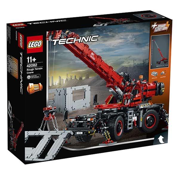 Lego Technic 42082 - La grue tout-terrain