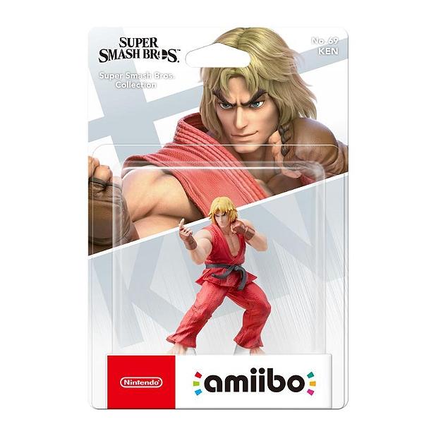 Sélection de figurines Amiibo en promotion - Ex: Figurine Smash Ken N°69