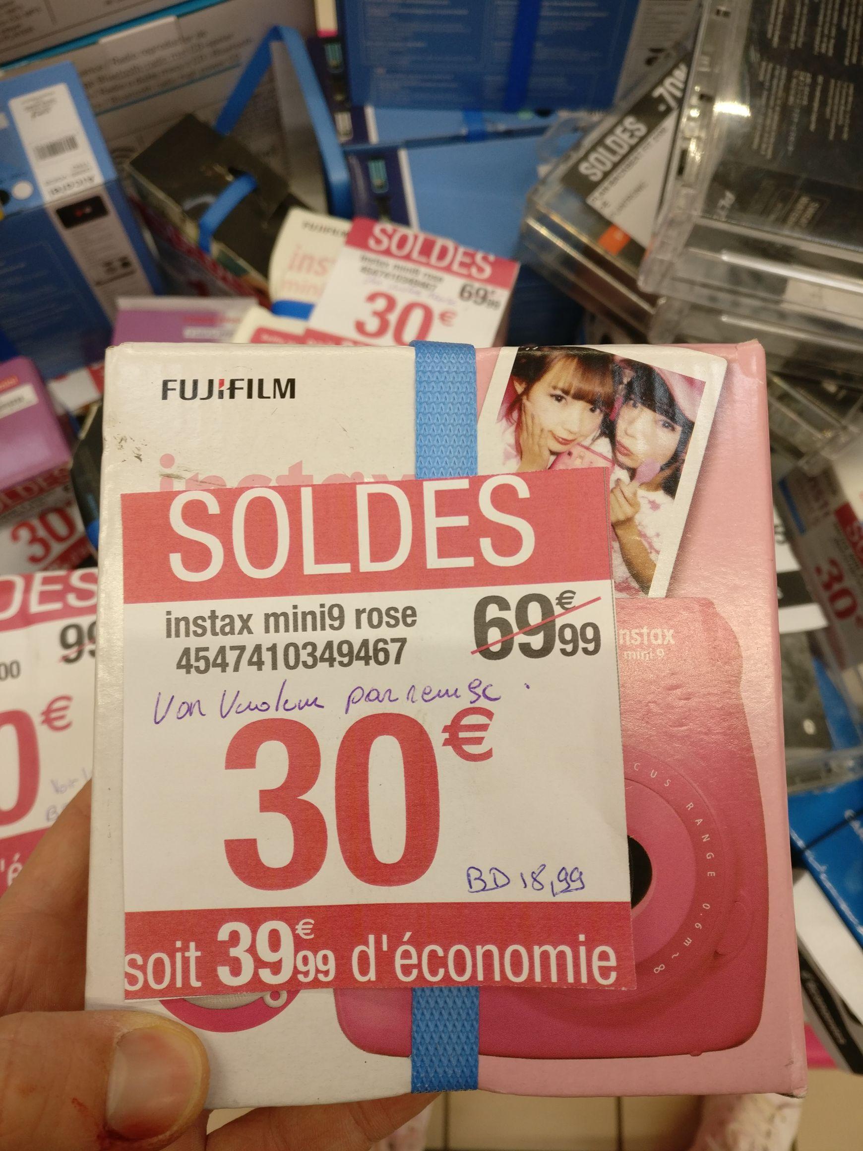 Appareil photo instantané Fujifilm Instax Mini 9 - Francheville (69)