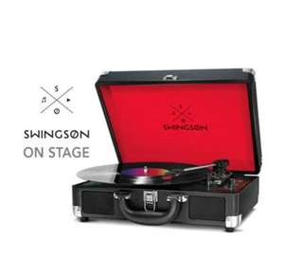 Platine disque Swingson On Stage - Noir