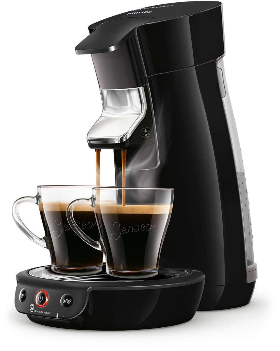 Cafetière à dosettes Philips Senseo Viva Café HD6563/61 (Via 10.49€ d'ODR + 10.49€ de bons de réduction café)