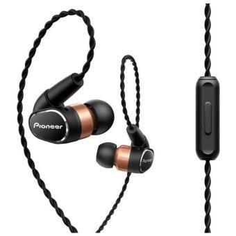 Ecouteurs filaires Pioneer SE-CH9T-K - Noir et Or