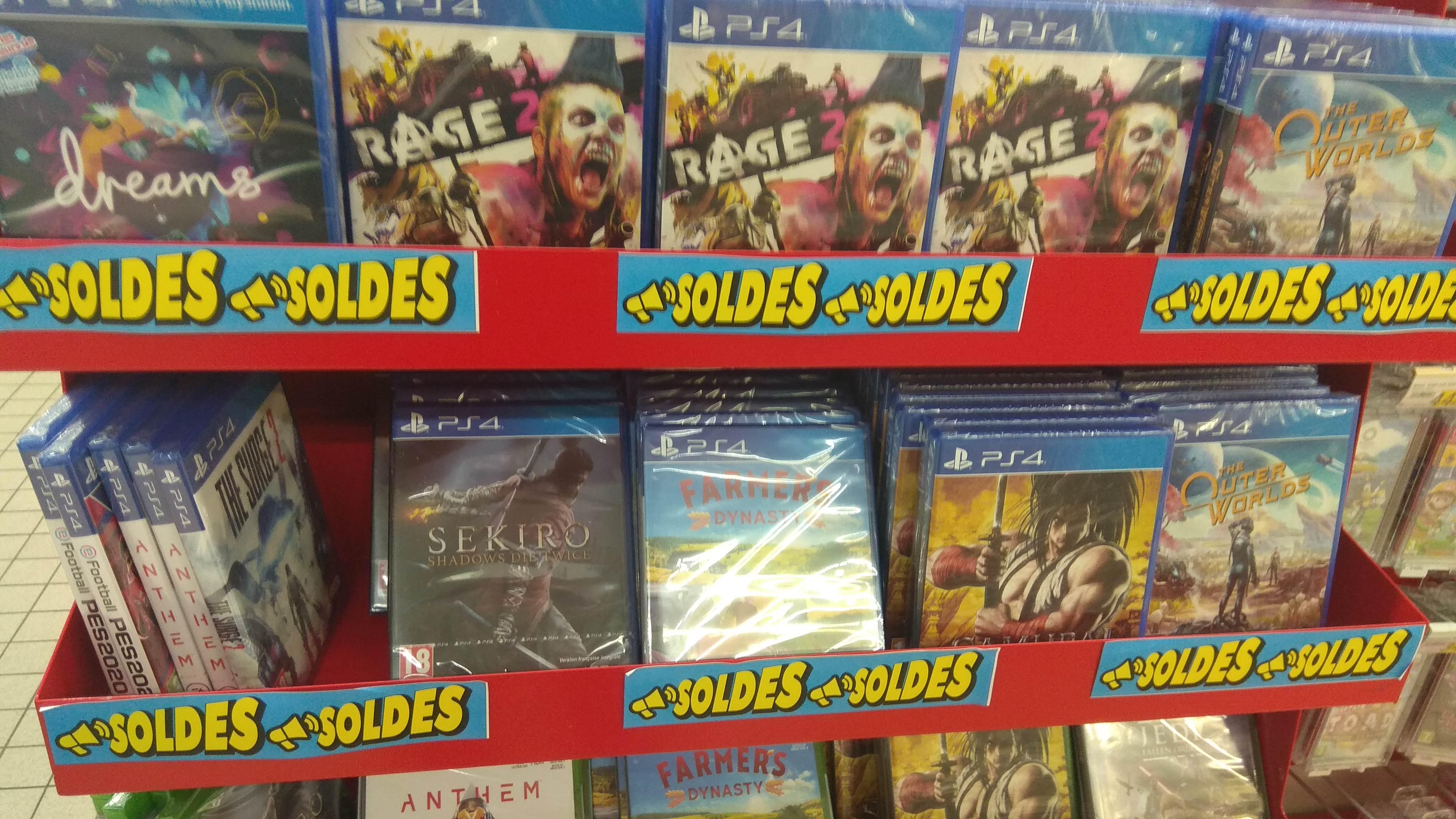 Sélection de Jeux Ps4 et Xbox One à 10 € (Trie Chateau 60)