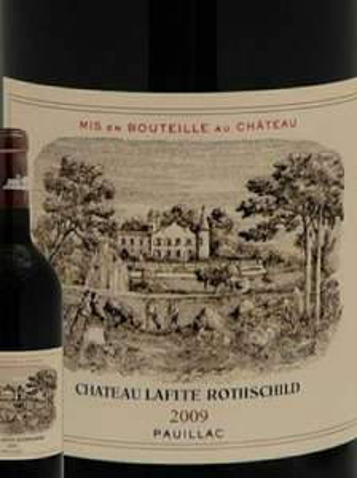 Vin rouge Château Lafite Rothschild Pauillac Rouge 2009