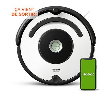 Aspirateur robot connecté iRobot Roomba 675