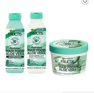 Lot Fructis : Ma Routine Hydratation Cheveux Complète Hair Food Aloe Vera