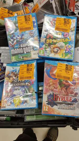 Sélection de jeux wii u en promotion - Ex: Super mario 3d World - Compans Caffarelli (31)