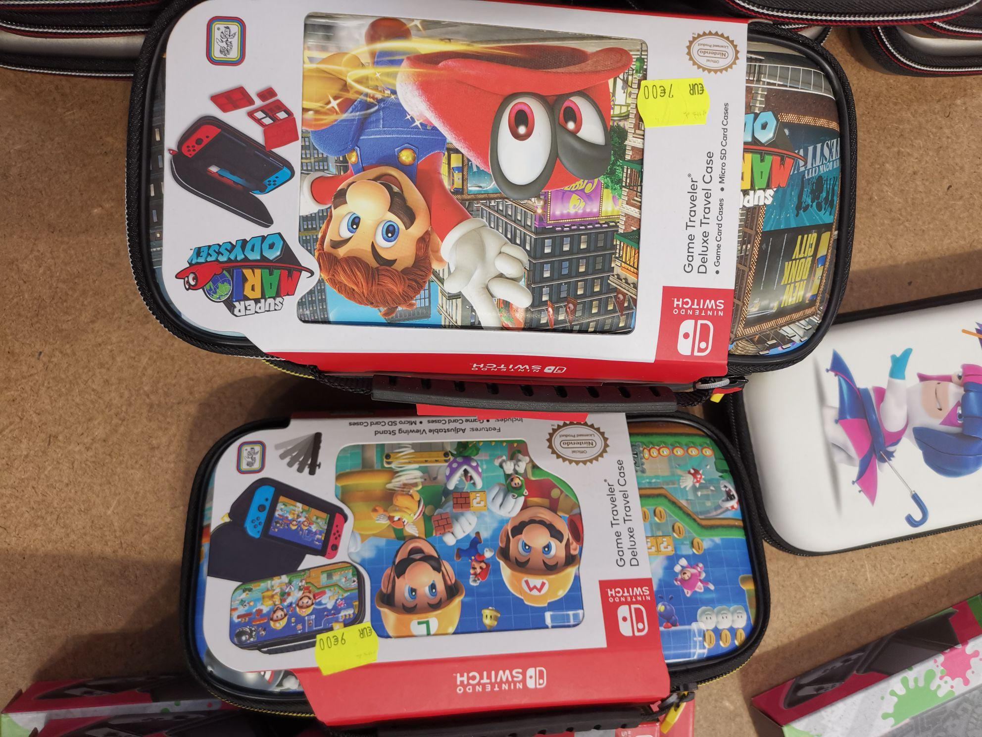 Sélection de pochettes de transport pour console Nintendo Switch en promotion - Illzach (68)