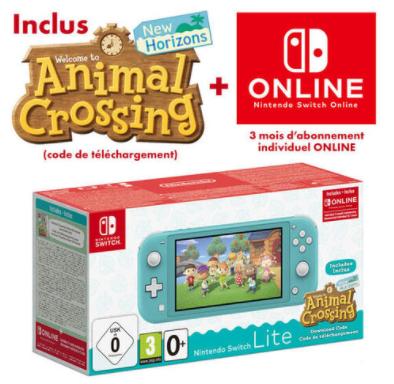 40€ de réduction sur le site Micromania pour tout paiement avec le crédit renouvelable - Ex Nintendo switch lite + animal crossing