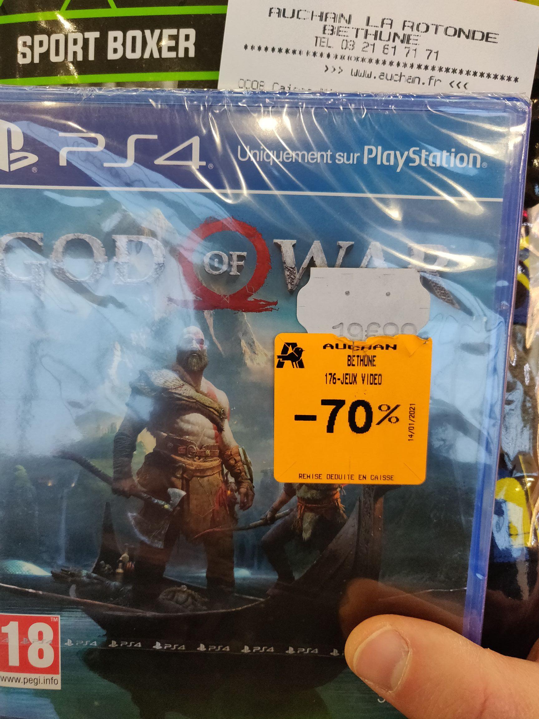 God of War sur PS4 - Béthune (62)