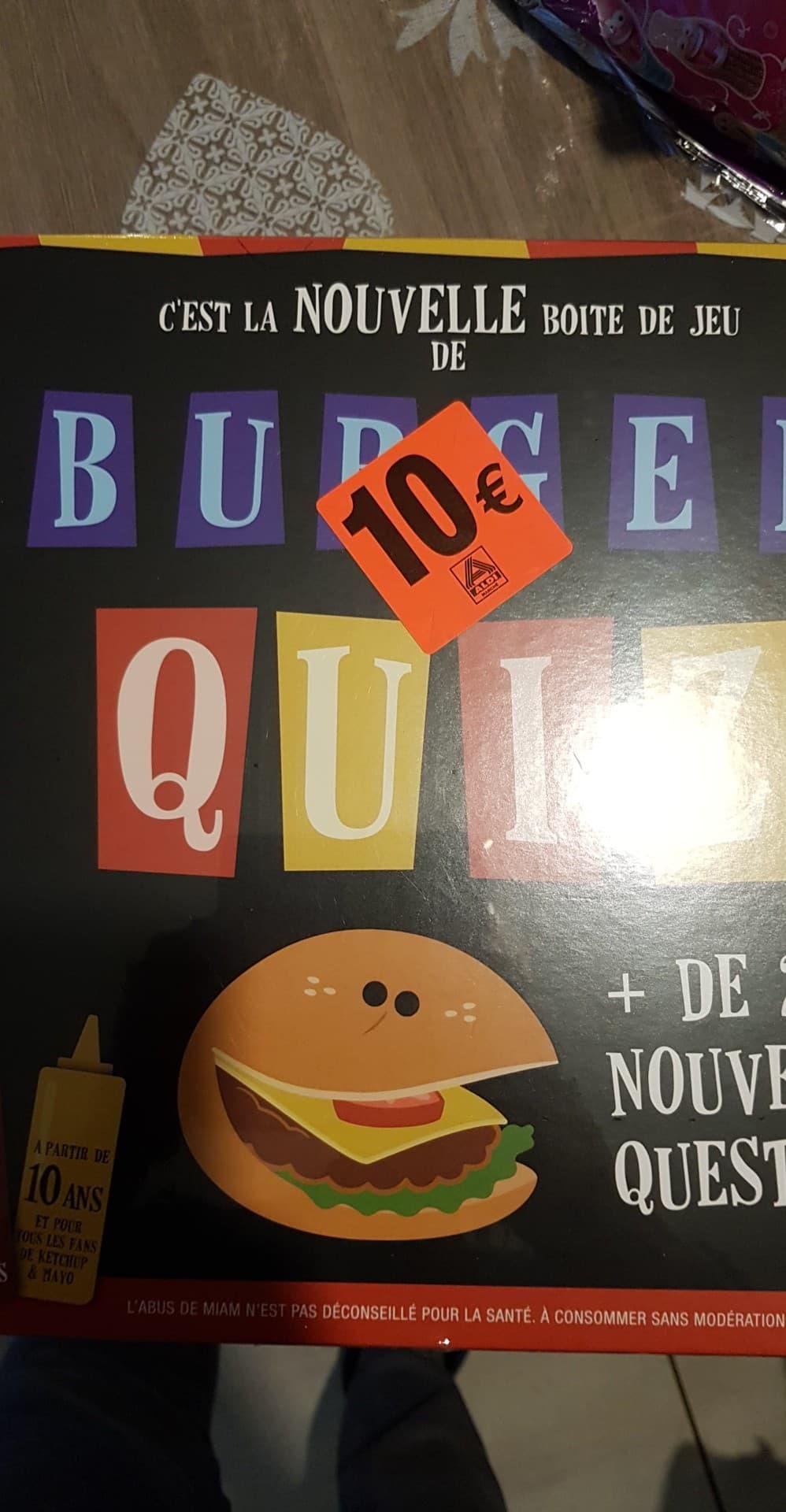 Jeu de société Burger Quiz - Bruay-la-buissière (62)