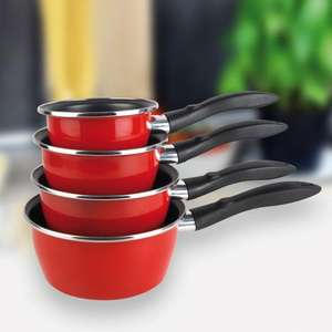 Set de 4 casseroles en teflon Master Kitchen (tous feux dont induction)