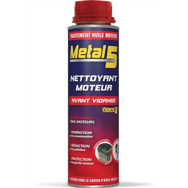 Nettoyant moteur avant vidange Metal 5 - 300 ml