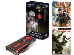 Carte graphique Sapphire HD7950 + Bioshock Infinite + Crysis 3