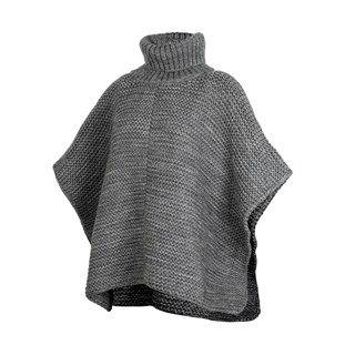 Sélection d'articles en promotion - Ex: Poncho en laine Gris (Via Retrait dans une sélection de Magasins)