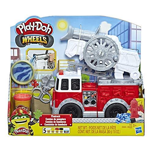 Kit pâte à modeler Play-Doh - Le Camion de Pompiers