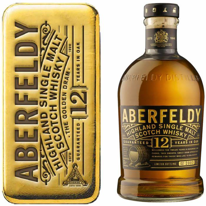 Bouteille de Whisky Single Malt Aberfeldy 12 ans (70 cl) - Ballainvilliers (91)
